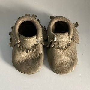 Freshly Picked Moccasins Size 3 Baby